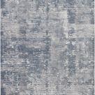 Nourison Rustic Textures RUS05 Oversized Rug - 7'10\ x 10'6\ / Grey