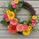 Spring Door Wreaths