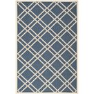 Andish Ivory/Blue Indoor/Outdoor Area Rug August Grove Rug Size: Rectangle 200 x 300cm