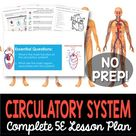 Circulatory System Complete 5E Lesson Plan   Distance Learning