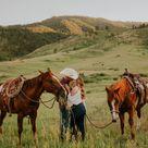 Colorado Mountain Proposal   HANNAH + NATHAN - westernweddingmagazine.com