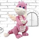 Crochet PATTERN Dragon.  Dragon baby Amigurumi toys. Amigurumi patterns