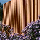 Sichtschutz – moderne Holz Lamellen nach Maß von WALLI