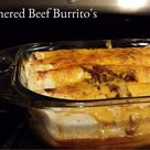 Smothered Beef Burritos