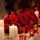 Rose Centerpieces