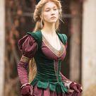Medieval Cotton Fantasy Dress and Vest Costume princess | Etsy