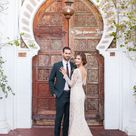 Palm Springs Wedding at Korakia Pensione: Jenny + Levi | Green Wedding Shoes