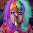 Crazy Hair Colour