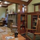 Craftsman Living Rooms