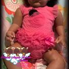Biracial/AA/Ethinic Reborn Babygirl Made From The Grant Kit