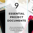 9 Essential Project Documents (With Templates) • Girl's Guide to Project Management