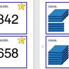 Aufgabenkärtchen: Zahlen legen im ZR 1000