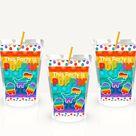 Pop It Juice Pouch Labels
