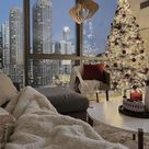Wood Christmas Pendant Light, Modern Industrial Chandelier Lighting Fixture Brown, Ceiling Lampshade