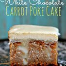 Carrot Poke Cakes