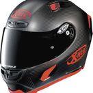 X-Lite X-803 Ultra Carbon Puro Sport integral helmet - Matt Black/Red - M