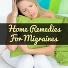 Migraine Home Remedies