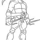 Coloriage tortue ninja 85