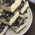 Cookies and Cream Rice Krispie Treats - Lovely Little Kitchen
