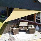 Waterproof Sun Shelter Outdoor Canopy - 300x300cm Cream