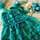 Turquoise Lace Dresses