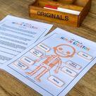 Human Skeleton Printable, Human Bones Printable, Homeschool Activity, Human Science Study, Skeleton Anatomy, Science Printable for Kids