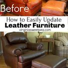 How to Easily Update Leather Furniture