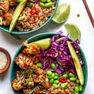 Teriyaki Cauliflower Power Bowls (Vegan, Gluten Free)