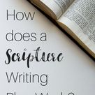 What Is Scripture Writing ~
