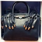 Black Leather Purses