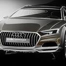 2017 Audi A4 allroad quattro   Design Sketch