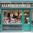 Paris Chocolate Shop A La Mere