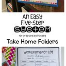 Take Home Folders: Part 2
