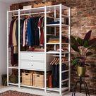 ELVARLI Combinaison armoire - blanc - IKEA Suisse