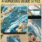 How to Embellish Any Pour Into a Gorgeous Geode Style
