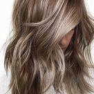 Ash Hair Color 2020   Ash Gray Highlights, Ash Blonde