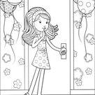 Kids-n-Fun | Kleurplaat Groovy Girls Groovy Girls