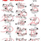 300 Ab Workout