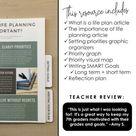 Life Planning for Teens:  Growth Mindset & Social Emotional Learning + DIGITAL