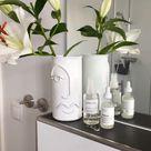 DIY Face Line Vase