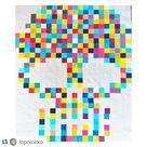 Candy Crush Sugar Skull Quilt PDF