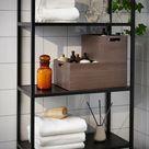 NÄBBIG Box, braun, 26x35x15 cm - IKEA Deutschland