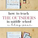 How to Teach The Outsiders in Middle School