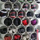 Girls Closet Organization
