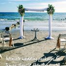Intimate wedding packages for Tampa Bay/St Pete/Clearwater