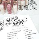 Games For Bridal Shower