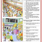 Bildbeschreibung - Mit dem Zug oder mit dem Flugzeug