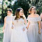 Dreamy Lakeside Wedding at McKay Gardens   Orange Blossom Bride