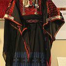 * Beersheban bedouin costume from palestine.