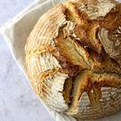 Ohne Hefe   Roggen Dinkel Brot mit Sauerteig   Bäckerina